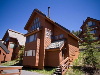 Photo for NEW LISTING! Condo with a private hot tub and ski-in/ski-out access!