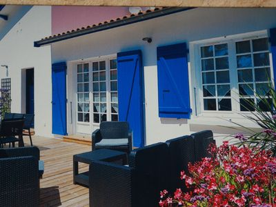 Photo for Ile d'Oleron house, 3 stars, near the beach of Gatseau, 8 pers, 4 ch