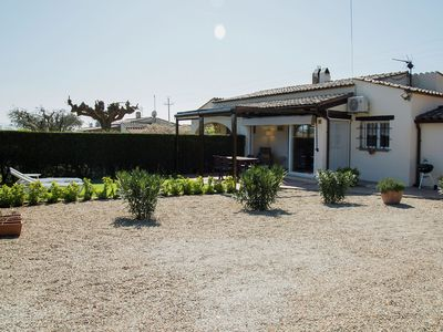 Photo for Nice mediterranean house for 4 with communal pool in L'Estartit