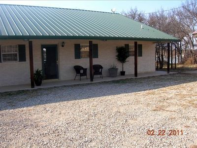 Photo for Lake Brownwood Lakefront House, 1st Class,  Pvt Dock,