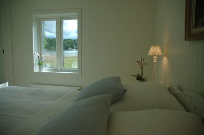 Bedroom has high quality double bed (160x200 cm).