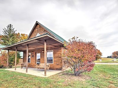 Photo for Lakefront Columbia Cabin w/ Views & Porch!