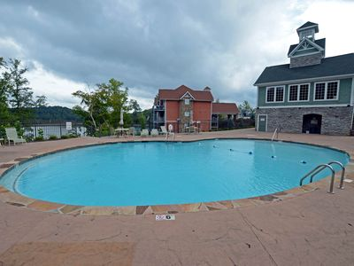 Photo for NEW LISTING! High-end condo in lakefront building w/ shared pool, hot tub, dock