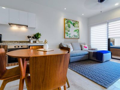 Photo for Brand New 1BR, AC, Beach, Rooftop Pool