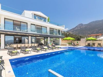 Photo for Villa Eternity - New Luxury 7 Bedroom Villa with option of heated pools.