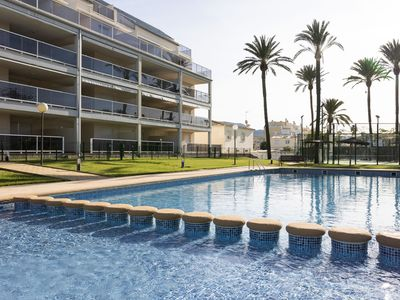 Photo for Fantastic penthouse 50 meters from the beach.