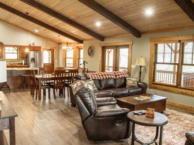Photo for Brand New LUXURY Country Cottage, awesome Hot Tub, 8 miles to Downtown Asheville