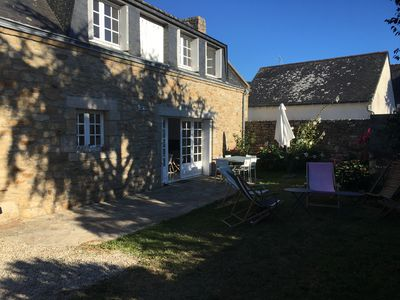 Photo for Gulf of Morbihan, Port Navalo village house, near the beach and shops