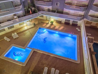 Photo for Penthouse Chill Out Pool Beach. Ideal Families and pets. Campello. Alicante