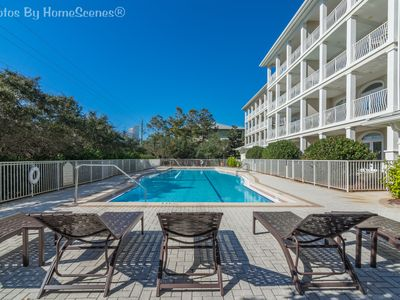 """Photo for Villas in Seagrove """"Sea La Vie"""" Steps away from pool and beach! Sleeps 8!"""