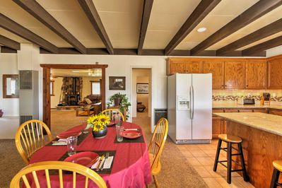 The property features all the comforts of home for up to 4 guests to enjoy.