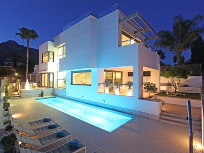 Photo for Contemporary Luxury Villa In Marbella With 360 Degree View Terrace,