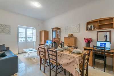 Spacious Living-Dining room with Internet WiFi and IPTV with hundreds of channels in different Languages