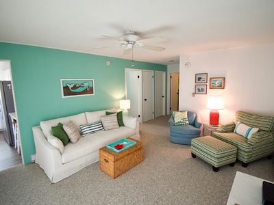 Photo for Ocean view beach bungalow. Family friendly, great location and quiet.