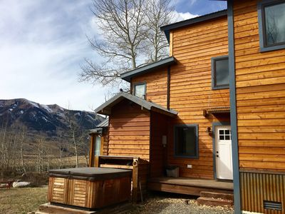 Photo for Peaceful CB Cabin Nestled in Aspen Forest w Dramatic Views