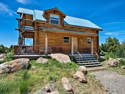 Photo for NEW! Pet-friendly Moab Cabin w/ Mtn Views & BBQ!