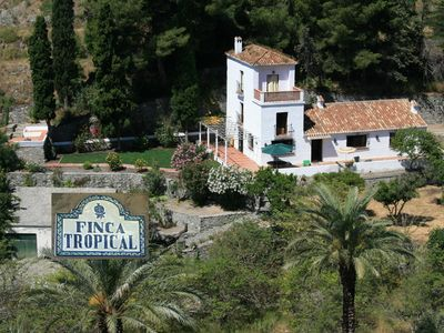 Photo for Finca with sea view, quiet location in the countryside, for families, large terrace, garden