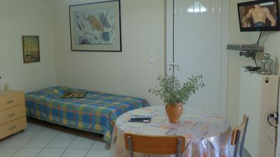 Photo for Studio in quiet residential area between city center, harbor and airport