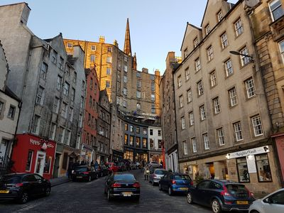 Photo for Comfy 2 bed in the heart of the Grassmarket.