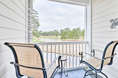 With golf course views, this home is the epitome of comfortable.