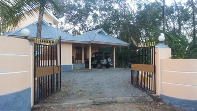 Photo for Beautiful Bungalow located in the middle of 3 Acres of Rubber, pepper and coffee