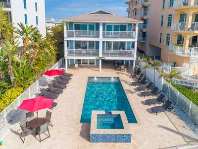 Photo for Newly Remodeled 3/2 Beachfront Condo w/Pool direct beach access check out video