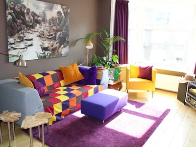 Photo for Sunny, colorfull and spacious apartment