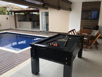 Photo for House with pool on the beach of millionaires