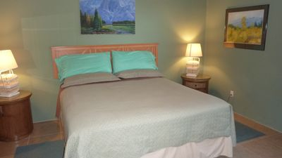 comfortable king bed