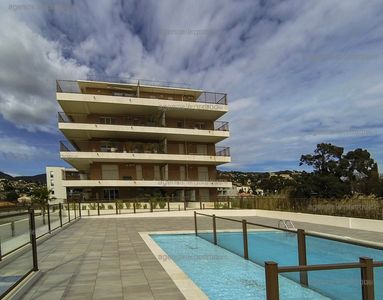Photo for Rent of a three rooms in residence with swimming pool, Lavandou, apartment is suitable for ...
