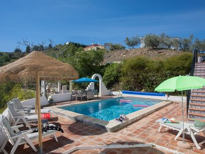 Photo for Casa Feliz: beautiful villa with great views and private heated pool