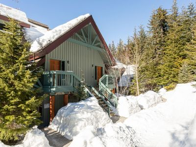 Photo for Beautiful and Spacious Ski In/Ski Out Chalet with Private Hot Tub