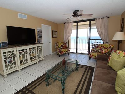 Photo for Summerchase 305-Beach Front Views from Terrace with Luxurious Interior!