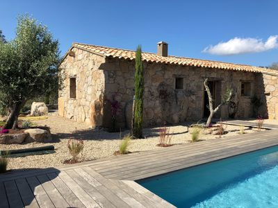 Photo for Bergerie villa with private pool