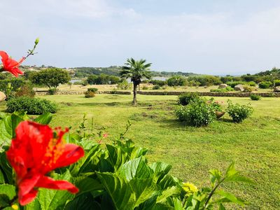 Photo for Holiday Apartment Close to the Beach with Garden, Sea View & Terrace; Parking Available, Pets Allowed