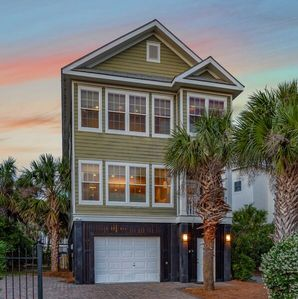 Photo for Pavilion a la Plage on Isle of Palms ~ PORCH, GAS GRILL, STEPS FROM THE BEACH!