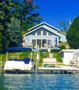 Photo for Stunning Lake Front Home perfect for family reunions & friends, close ND Campus