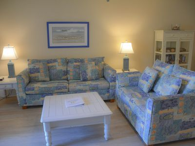 Photo for 2 Bedroom, 2.5 bath in Barrier Dunes, Short stroll to beach, Community pool!!!