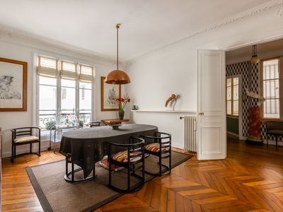 Photo for Stylish 2 BR apartment located by the stunning Sacre-Coeur (Veeve)