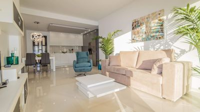Photo for PERLA DEL MAR, new apartment, 2 bedrooms, 2 bdr Pilar de la horadada, mill palmeras
