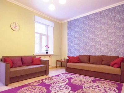 Photo for Spacious apartment in the center, 2 BDR