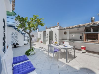 Photo for BEAUTIFUL MODERN & CENTRIC  VILLA BELAMAR REFURBISHED 50 METERS FROM THE BEACH