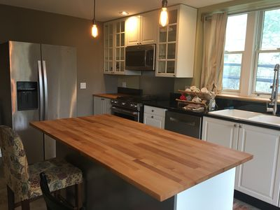Photo for Brand-new LARGE studio space, full kitchen, walk to UVA