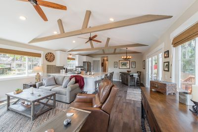 Living Room - Welcome to Cambria! Your stylish home is professionally managed by TurnKey Vacation Rentals.