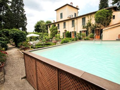 Photo for Luxury 17th century villa,6Kms from Florence historic city center!Pool-AC-WiFi