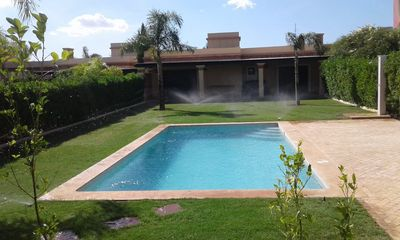 Photo for Beautiful contemporary villa of 120m2 with large Private Pool / Dyar Shemsi