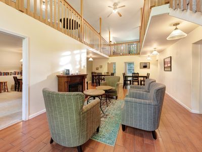 Photo for Enormous, family-friendly house w/ private hot tub & game room - dogs ok!