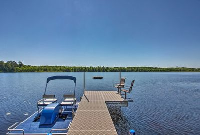 A waterfront getaway on Louise Lake awaits your stay!