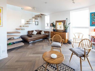 Photo for Duplex Penthouse 2bed, 2bath Flat in Notting Hill