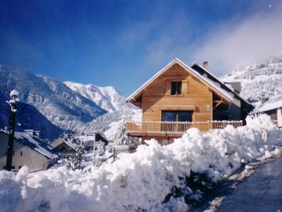 Photo for cozy cottage up to 12 seats on the panoramic valley INTERNET ACCESS
